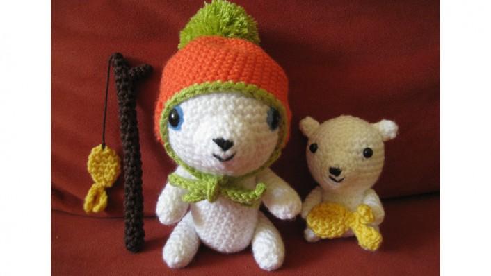 kleineEisbären-Familie