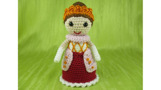 Puppe *kleine Königin*